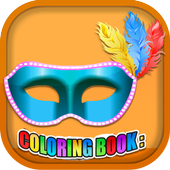 Coloring Book Masquerade Masks 1.7.0