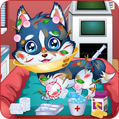 Baby puppy doctor game 1.0.0