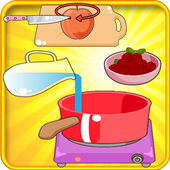 Cake peach : Cooking Games 1.0.0