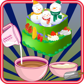 cooking games christmas cake 1.0.0