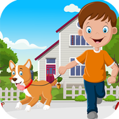 Kavi Game  415 - Cute Boy With Perky Dog Rescue 1.0.0