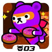Tappi Bear - Donut Ninja 3.5