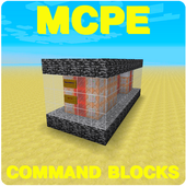 Command Blocks Mod For MCPE 1.12