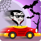 Mr-Bean's Halloween:Car Racing 1.1