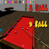 3D billiards 8 and 9 ball 1.1.1