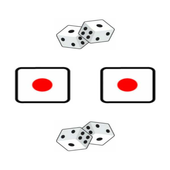 Twin Backgammon Dice 3