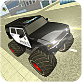 Police Monster Truck Driver : Extreme Thief Chase 1.0