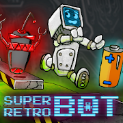 Super Retro Bot platform game 1.02