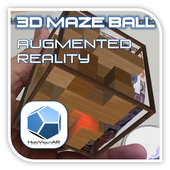 3D MazeBall Augmented Reality 1.0