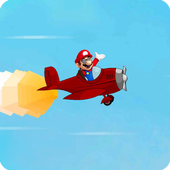 Mario Flying Plane World 1