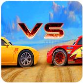 Lightning McQueen Vs Cruz Ramirez 1.0