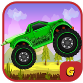 Kids Racing Games:Hill Truck 3.1