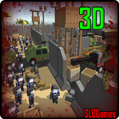 Block Of Zombies CraftWar Free 1.3.7