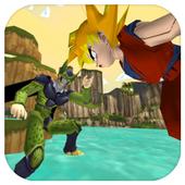 Ultimate Super Saiyan Goku Xenoverse Dragon Run 3D 1.0