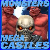 Monsters Mega Castles Game 3D 1.2