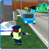 Traffic Policeman: Craft World 1.0.2