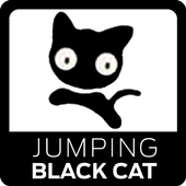 Jumping Black Cat 1.2