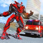 Truck Robot Fire Fighter Real War Simulator 🚒 1.0