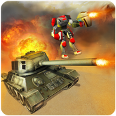 Clash of Army Tanks VS Robots 1.0.1