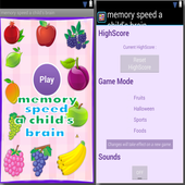 memory speed a child's brain 1.0