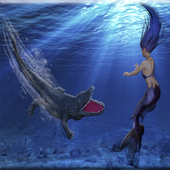 Crocodile Attack Mermaid 1.0.0