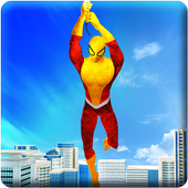 Super Flying Spider Rope Hero: City Rescue Mission 1.0.8