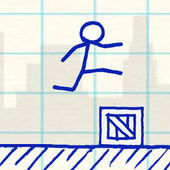 Blue Runner - Stickman Game 1.0