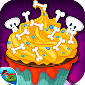 Cupcake-Halloween Cooking game 1.0