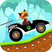 Cat Noir Hill Climb Racing 1.0