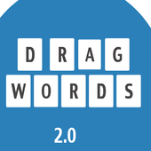 com.bandogames.dragwords icon