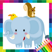 Animals Coloring Book For Kids 1.0