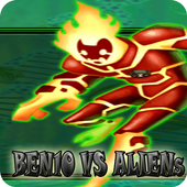 Battle Ben10 vs Aliens Force 3