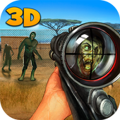 Zombie Shooting Hunting Safari 1.0