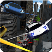 Flying Robot Cab Futuristic Transports 1.0