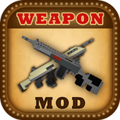 DesnoGuns Best Weapons. Mod for MCPE 1.0