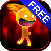 Burning Stickman runner  FREE 1.0