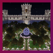 Enchanted castle. Map for MCPE 1.0