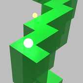 Ball Zigzag Runner 2
