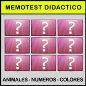Learn Spanish memotest game 0.1