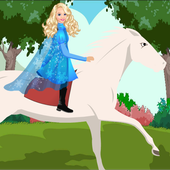 Princess Eve White Horse Ride 1.0
