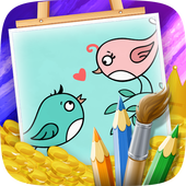 Coloring Book Birds Free 1.0