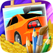Coloring Cars for Kids 1.0