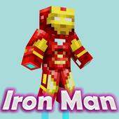 Mod Iron Man for Minecraft PE 1.0