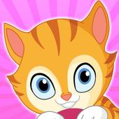 kitty cat games for kids girls 1.0