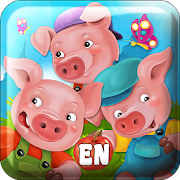 Fairy Tale & Puzzle Three Pigs 1.0