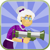 Angry Grandma - Run and Shoot