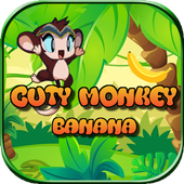 Cuty Monkey Banana : Jungle Dash 1.0