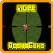 DesnoGuns Mod for Minecraft 0.15.4.