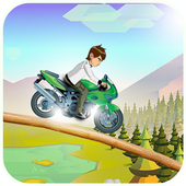 Crazy Jungle Ben Bike Racing 1.0
