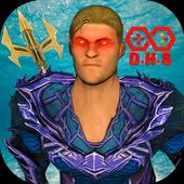 Flying Aqua Superhero Vs Monster Robot Warriors 1.0